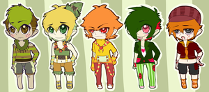 : Fruit Themed Adopts :-  70% Off ! Closed! by Homohelvetti