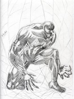 Venom Pencils April 2017 by Bobalob93