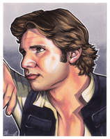 #017 - Han Solo [Star Wars] by NessaSan