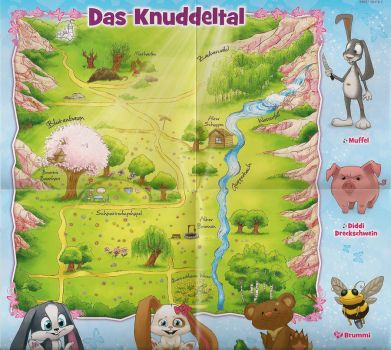 Schnuffel - The official Knuddeltal poster by Lady-Kappa