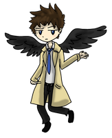 | Castiel | [Supernatural] by J0LIA