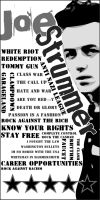 Joe Strummer poster by grusblot
