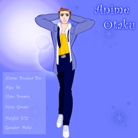 Anime Otaku - Booker Bio by TorresAdlinCDL91