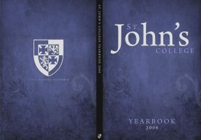St. John's Yearbook Cover by MH333