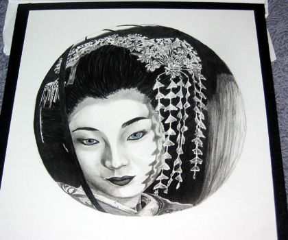Geisha in a Sphere by aislynn05