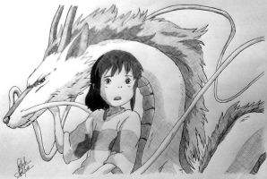 Spirited Away by apgbb