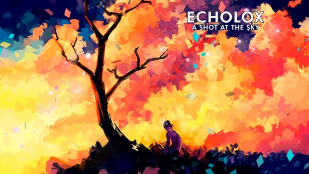 A Shot At The Sky - Animated Cover Art + Video by Echolox