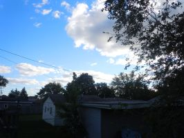 Another beautiful day in Suburbia by Loveistheknife