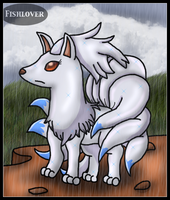 Shiny Ninetales Appeared by Fishlover
