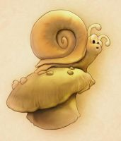 The Omfgwtf Snail by yuni