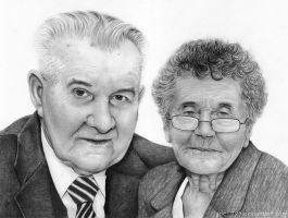 An old couple by sue1993