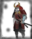 Lone samurai by Blagburns-art