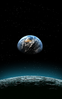 Galaxy Note Earth Wallpaper by Cracksoldier