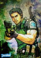 Chris Redfield By Demokun by Demokun54