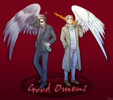 Good Omens by ka-na-o