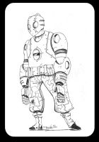 Atomic Robo sketch by nonamefox