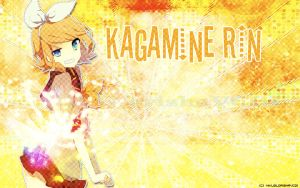 Kagamine Rin Wallpaper by MikuGlorishaVC01