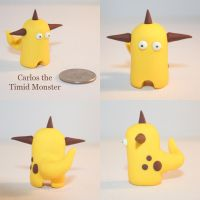Carlos the Timid Monster by TimidMonsters