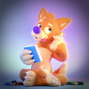 Commission: Dibs the Dingo(Part 1 of 2) by SmashingRenders