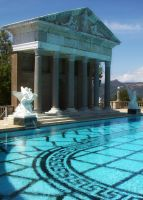 Hearst Castle Pool by kookybat810