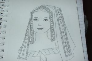 Elizabeth of York by la-voisin