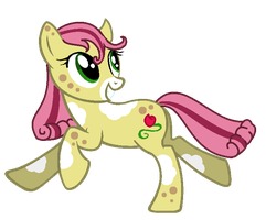 MLP OC: Prairie Rose by Midnyte-Wolff