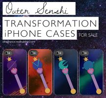 Planet iPhone Power -Outer Senshi- by digitalfragrance