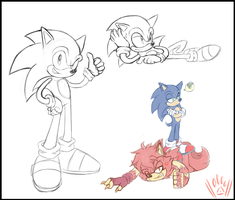 Sonic's Speedy Return by SiscoCentral1915