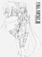 Final Fantasy XIII by IrwaanN