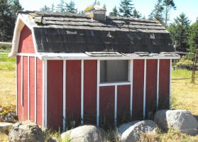 Stock: Little Barn by Stock-By-Michelle