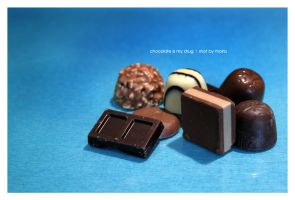:: chocolate is my drug by moiraproject