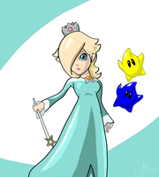 Super Smash Hype: Rosalina by SeminarComics