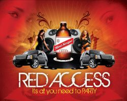 Red Access by artofmarc