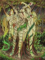 Dryads by Catalina-Estefan