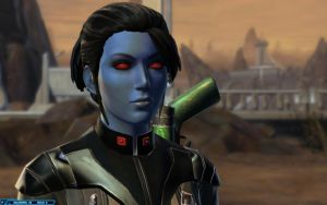 SWTOR Balmorra - Imperial Operative Milana'lowry by chicksaw2002