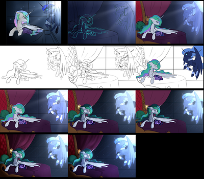 Lullaby W.I.P.s by TheBlueDreamMaker