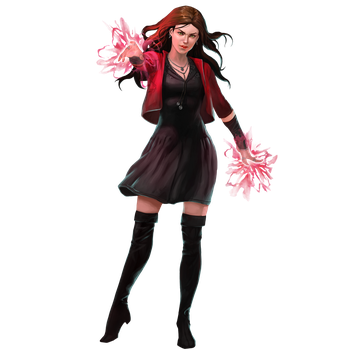 Scarlet Witch - Marvel Puzzle Quest by icequeen654123