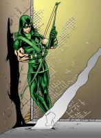 Green Arrow colour by sean-izaakse