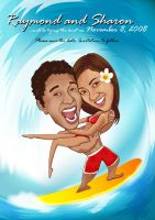 Raymond and Sharon : Surf by aboutface