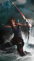 Tomb Raider Contest-Entry 2 water:reborn by fluviocroft