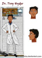 Dr. Troy Hyder Character Sheet by xchainlinkx