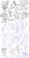 Doodles 6 by Nintendrawer