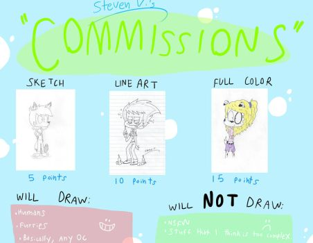 Commission Price Sheet 2017 by RugratsFan2012