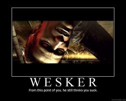 Wesker-Scrap by Queen-of-the-Undead6