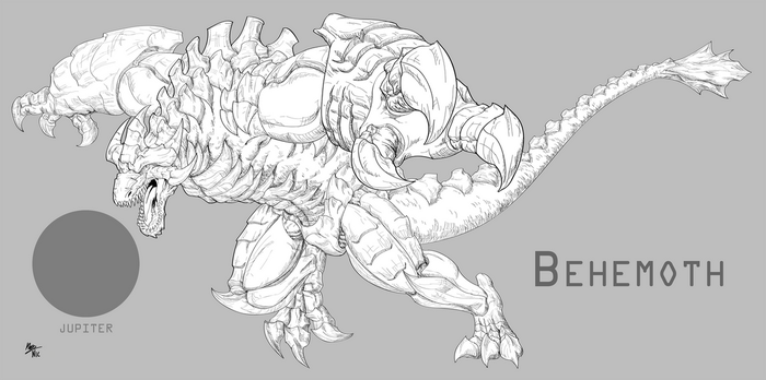 Project Pantheon - Behemoth [UPDATED] by A3DNazRigar