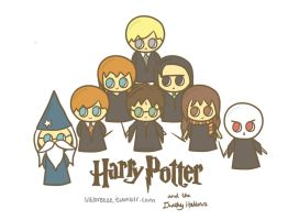 Harry Potter Characters by lillibreeze