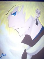 Roxas Painting by Gothie666