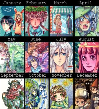 Art summary 2014 by lamascotadeldemonio