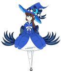 Blue Sea Witch by darksteelofficial