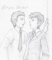 DW-Master and Doctor pencil V2 by Kuchiki-Narla
